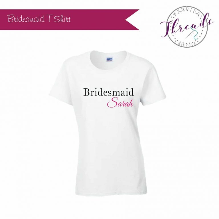 Bridesmaid hen party Tshirt