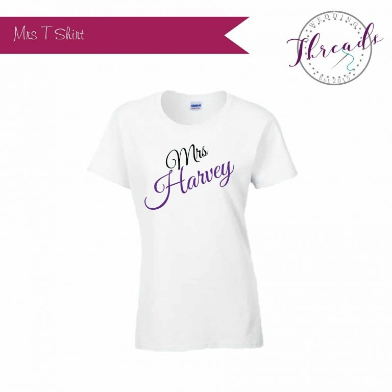 Mrs Bridal T shirt