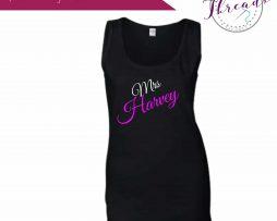 Personalised Bridal Party vests