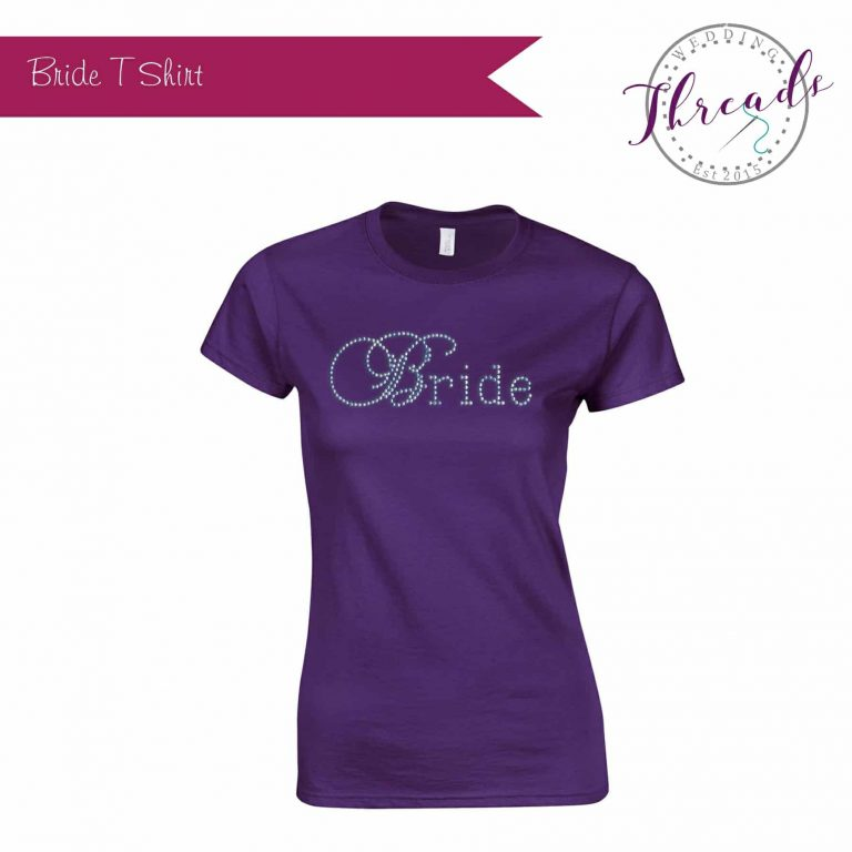 Personalised Bridal Tshirt