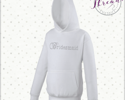 childrens bridesmaid hoodies