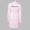 bridesmaid pink cotton robes