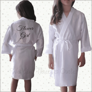 Childrens dressing gown