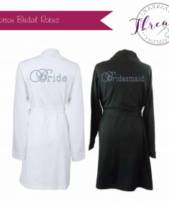 his and hers bridal robes