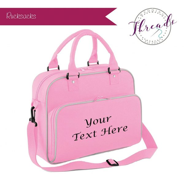 Childrens personalised dance bag