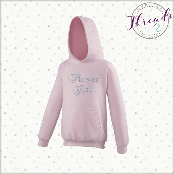 childrens Flower Girl hoodies