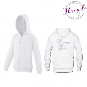 childrens zipped sweatshirt hoodies