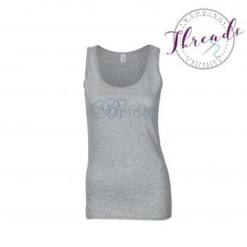 Personalised hen party vests