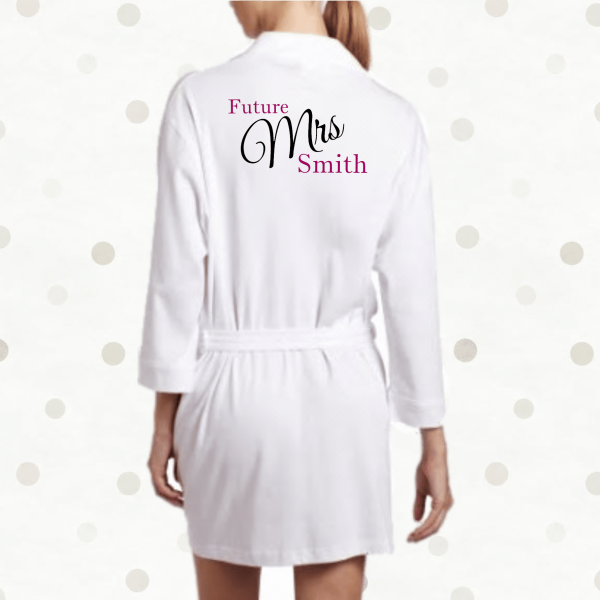 Bridesmaid Dressing Gowns Personalised