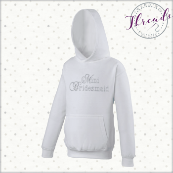 Childrens Mini Bridesmaid Sweatshirt Hoodies