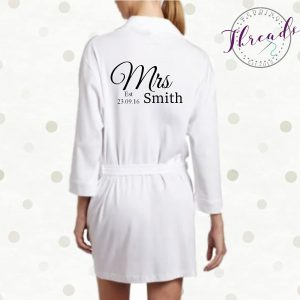 Mrs cotton robe