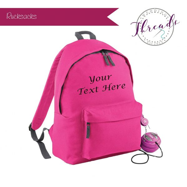 Childrens personalised Rucksack