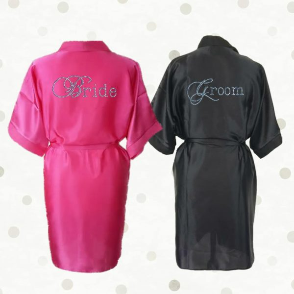 Wedding Satin Robe