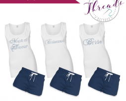 Personalised Bridal Pyjamas set