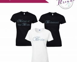 personalised wedding tshirt