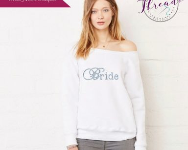 Personalised Bride Sweatshirt