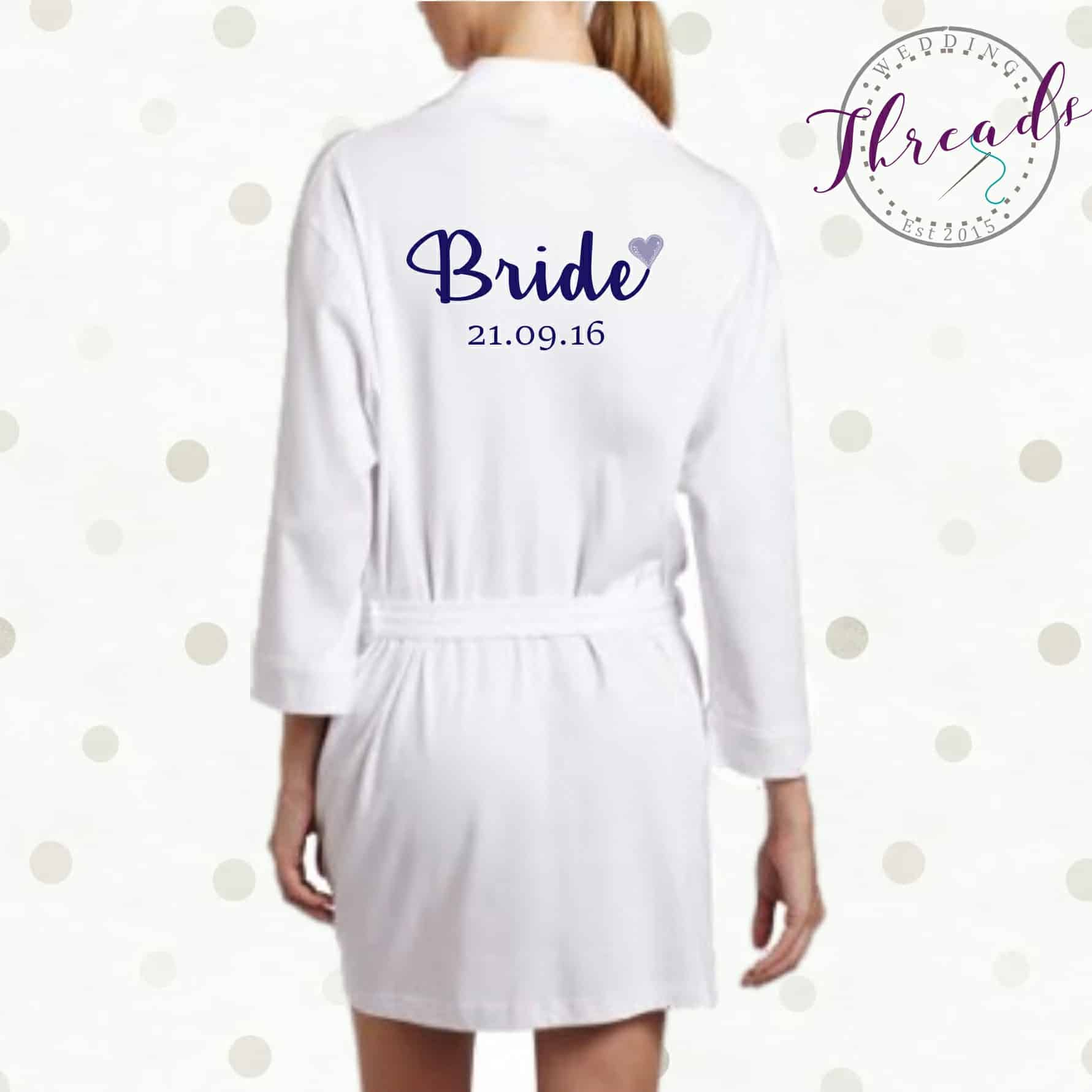 fa6dcd029a Bride dressing gown