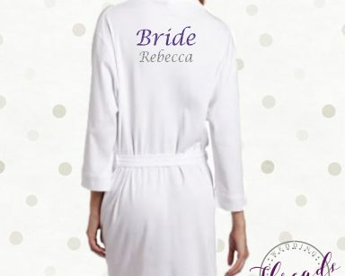Dressing Gowns White Bride