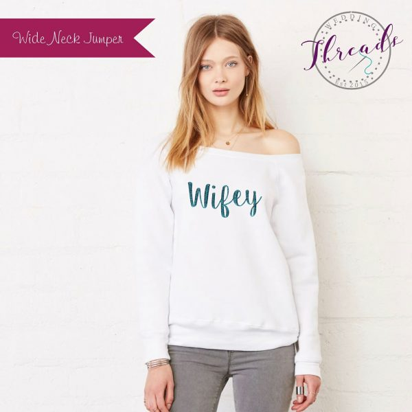 Personalised wide neck Sweaters