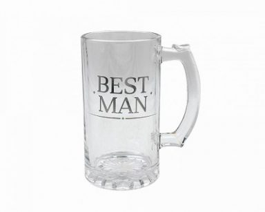 best man tankard gift