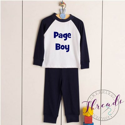 boys wedding pyjamas