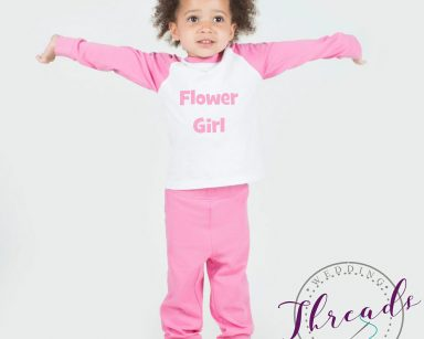 Childrens wedding pjs