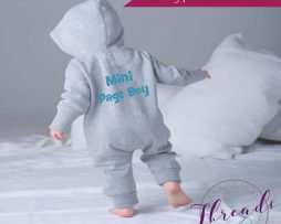 mini page boy onesie