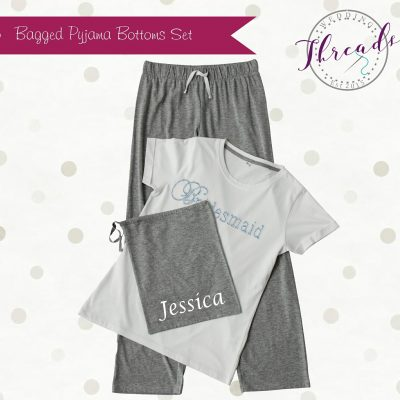 Personalised Bagged Pyjamas