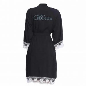 Lace Cuff Cotton Robes