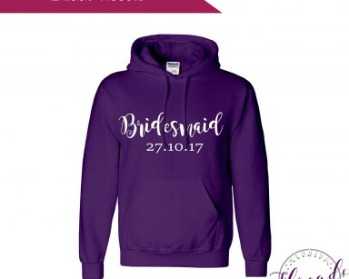Bridesmaid Wedding Hoodie