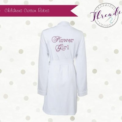 Childrens Cotton robe