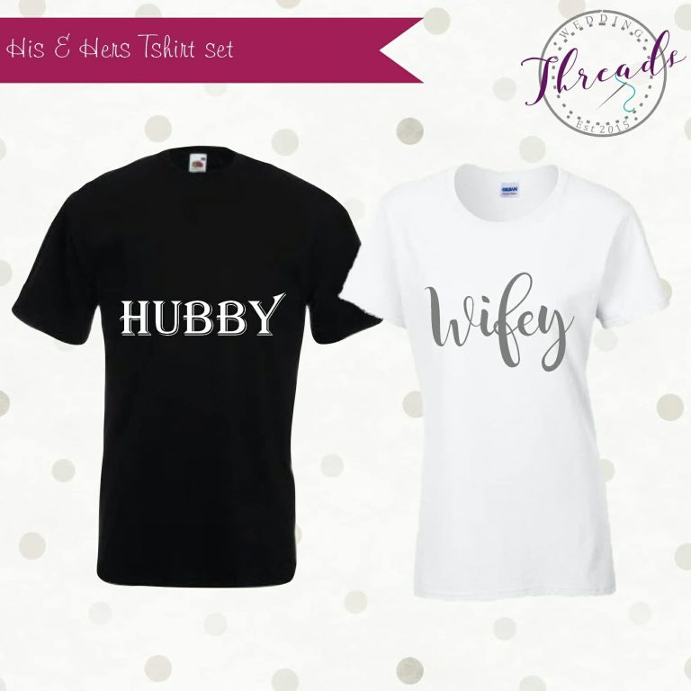 personalised bridal tshirts