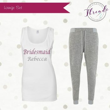 Bridesmaid Lounge Pyjama Set