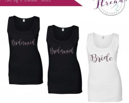 Personalised wedding vests