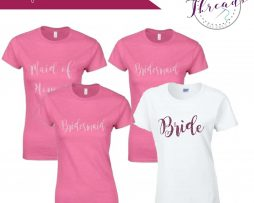 Personalised Bride Tshirt