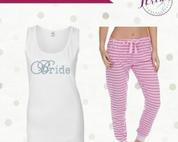 personalised bridal pyjamas