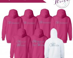 zipped Wedding Hoodie