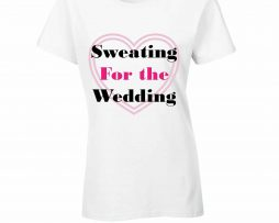 Gym wedding tshirt