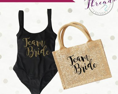 Team Bride Beach gift set