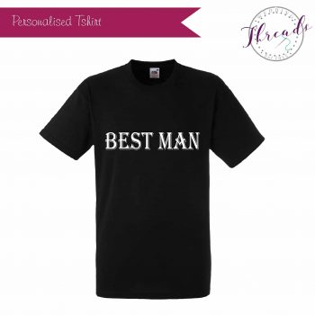 Best Man wedding tshirt
