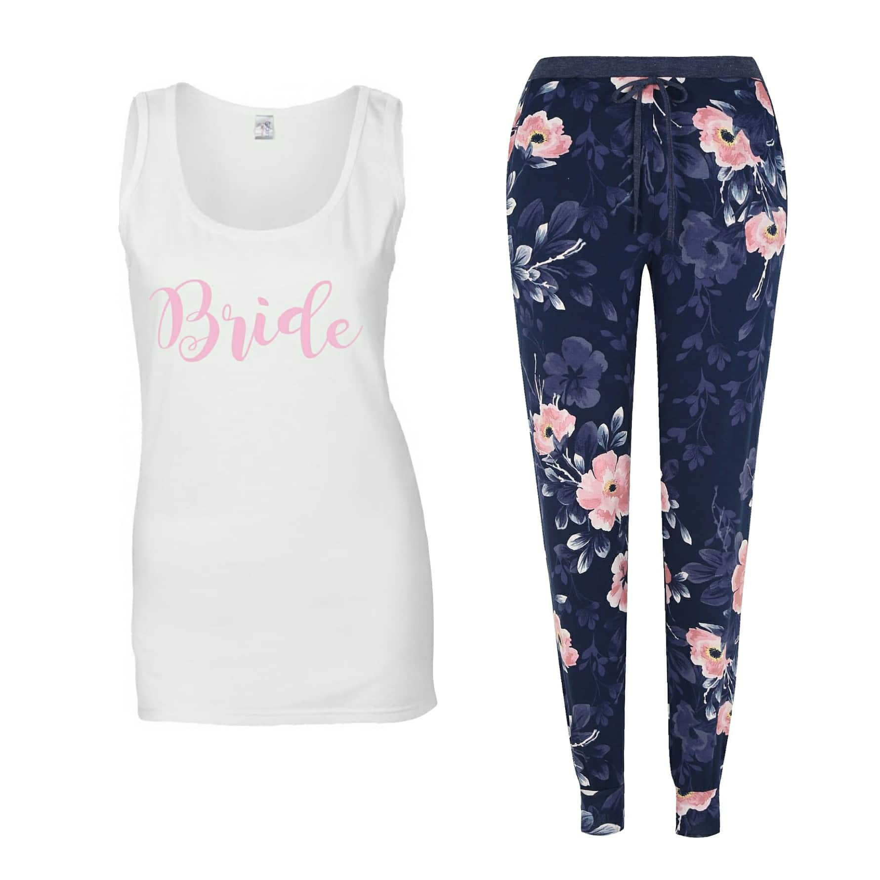 Bride to be floral pjs