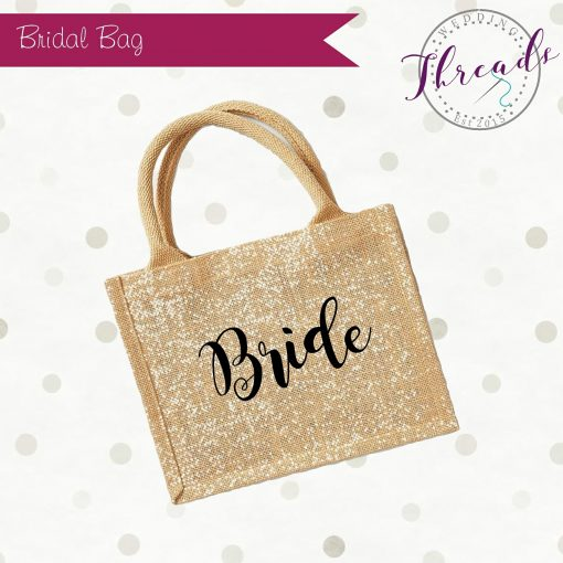 Bride personalised bag