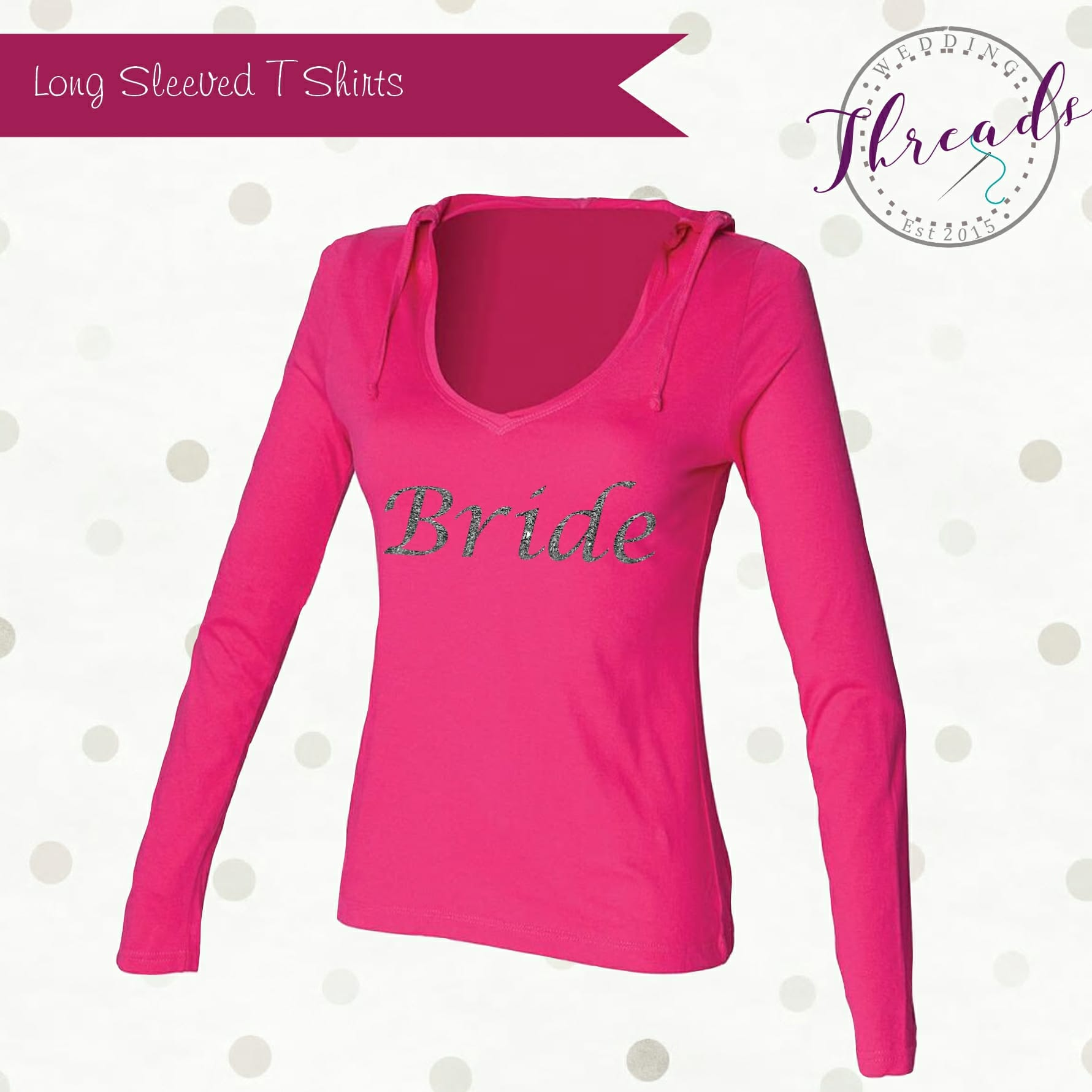 wedding long sleeved tshirt