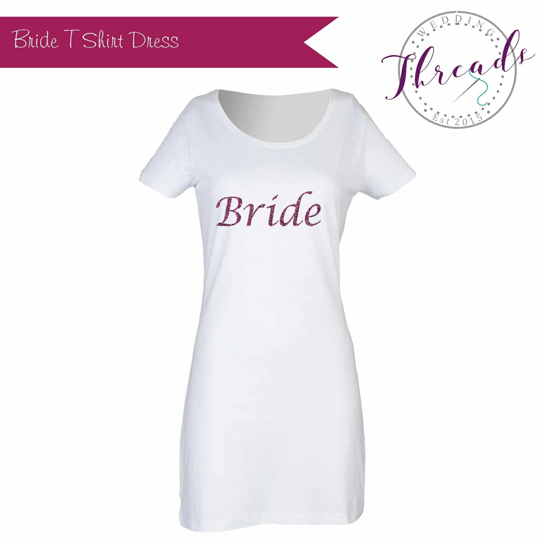 wedding tshirt dress