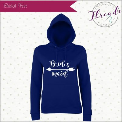 Bridesmaid personalised Hoodie