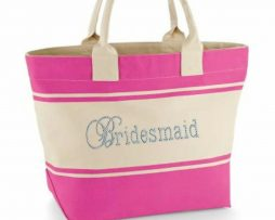 Bridal personalised Canvas Bag