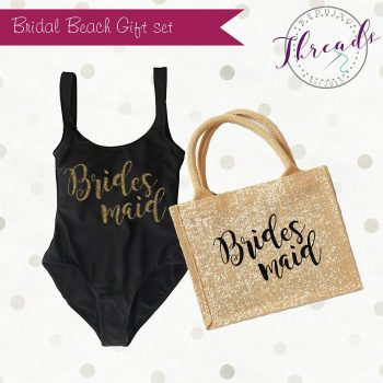 Bridesmaid Beach gift set