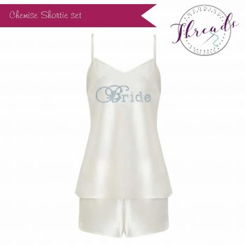 Bridal Satin Cami set