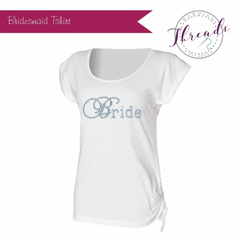 Bridesmaid wedding Tshirt