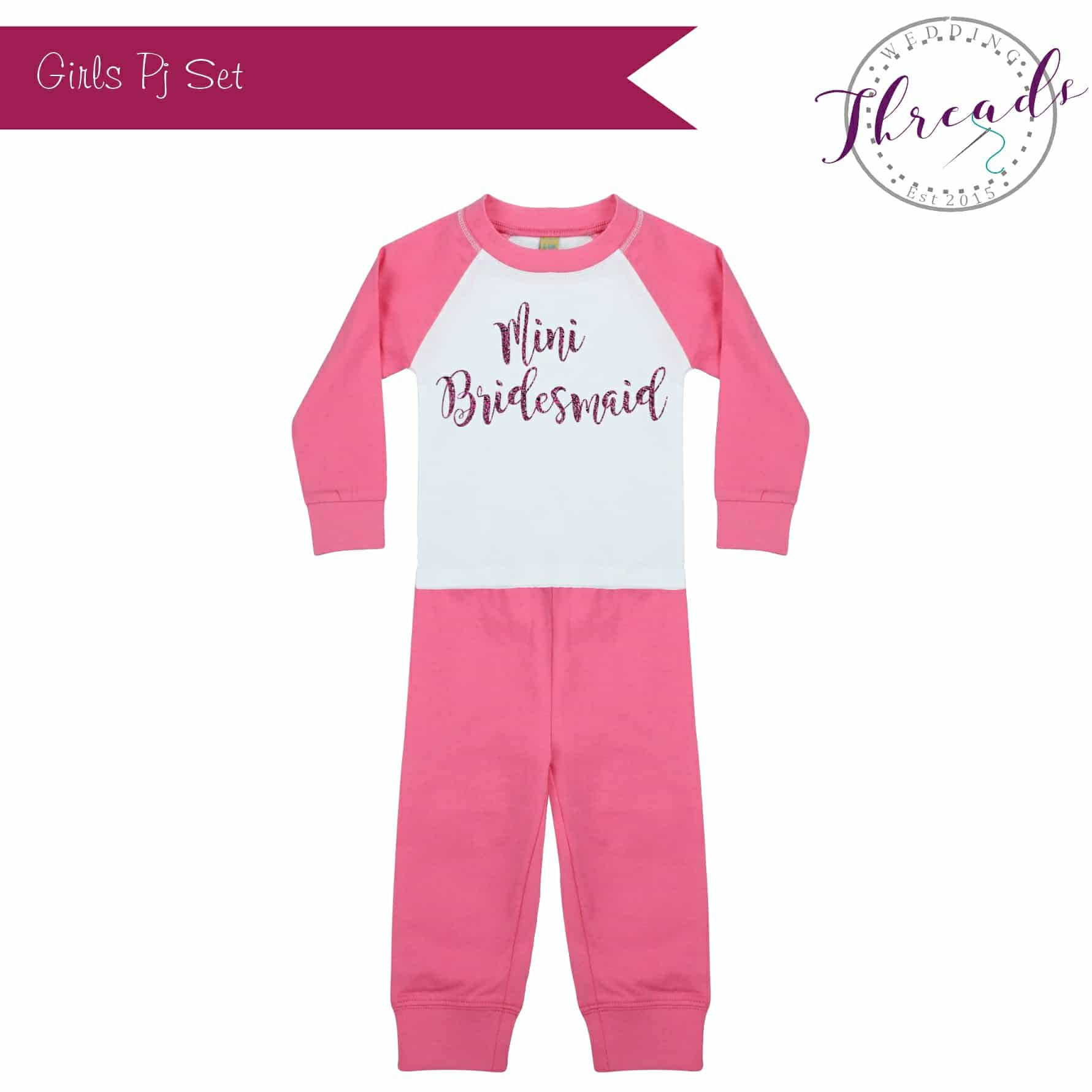 Mini Bridesmaid Wedding Pyjamas